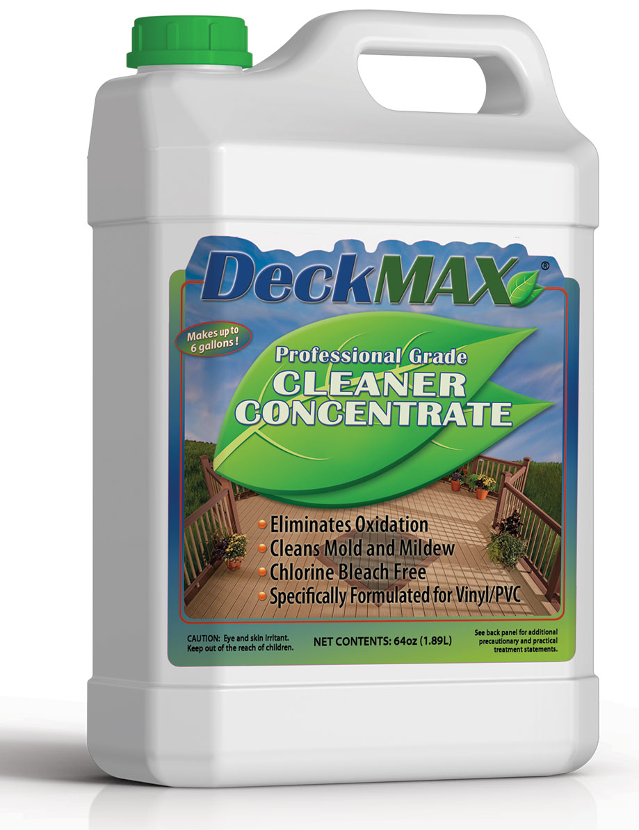 Deckmax pro grade cleaner concentrate deck cleaner deckmax for Revive deck cleaner