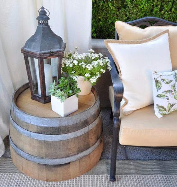 Deck decorating ideas that won 39 t cost a fortune by deckmax Decorating end tables without lamps