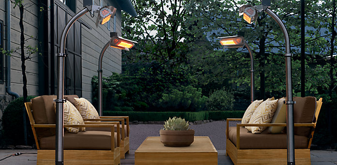 Outdoor Heaters Use Your Deck As It Gets Colder
