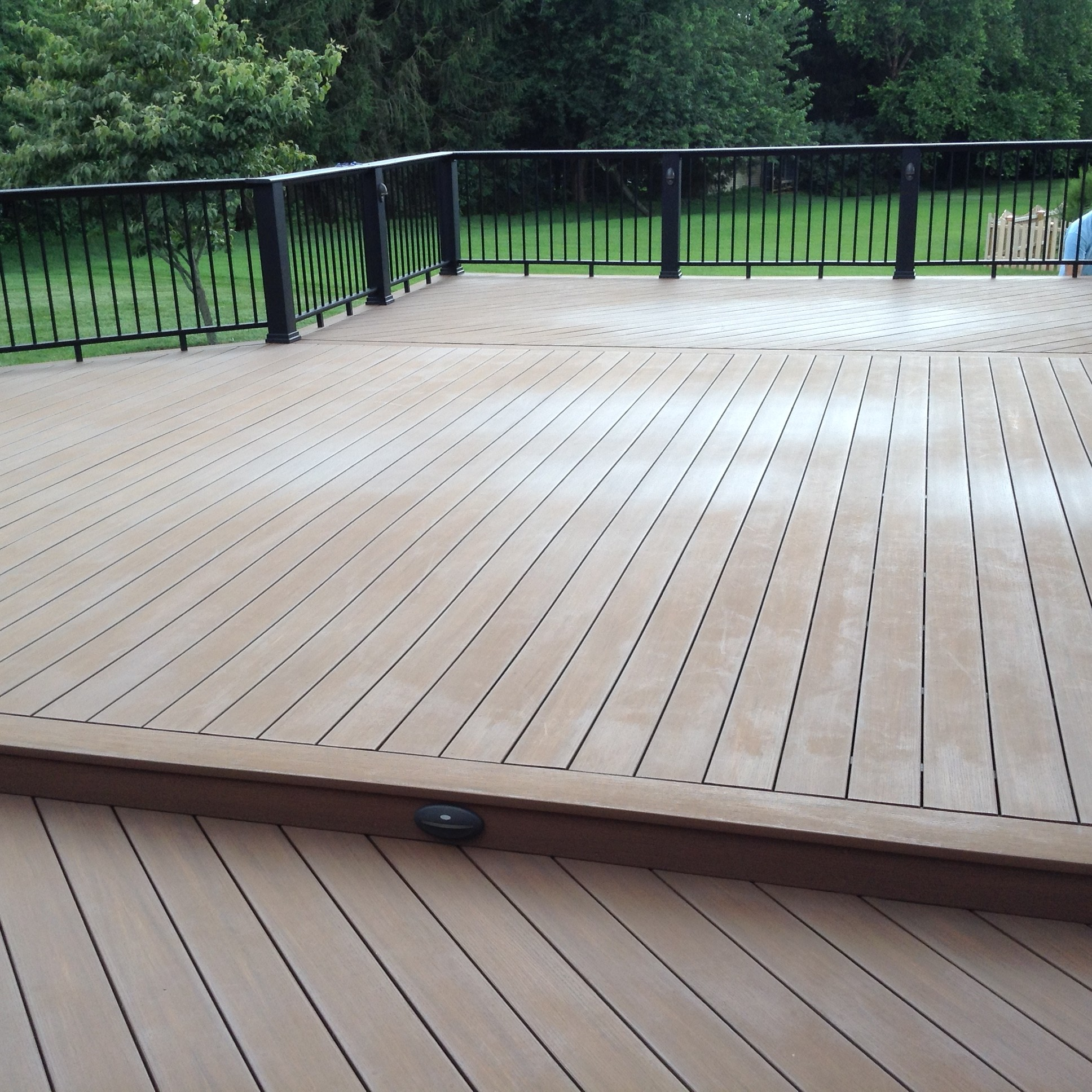 pvc deck restoration before | DeckMax®