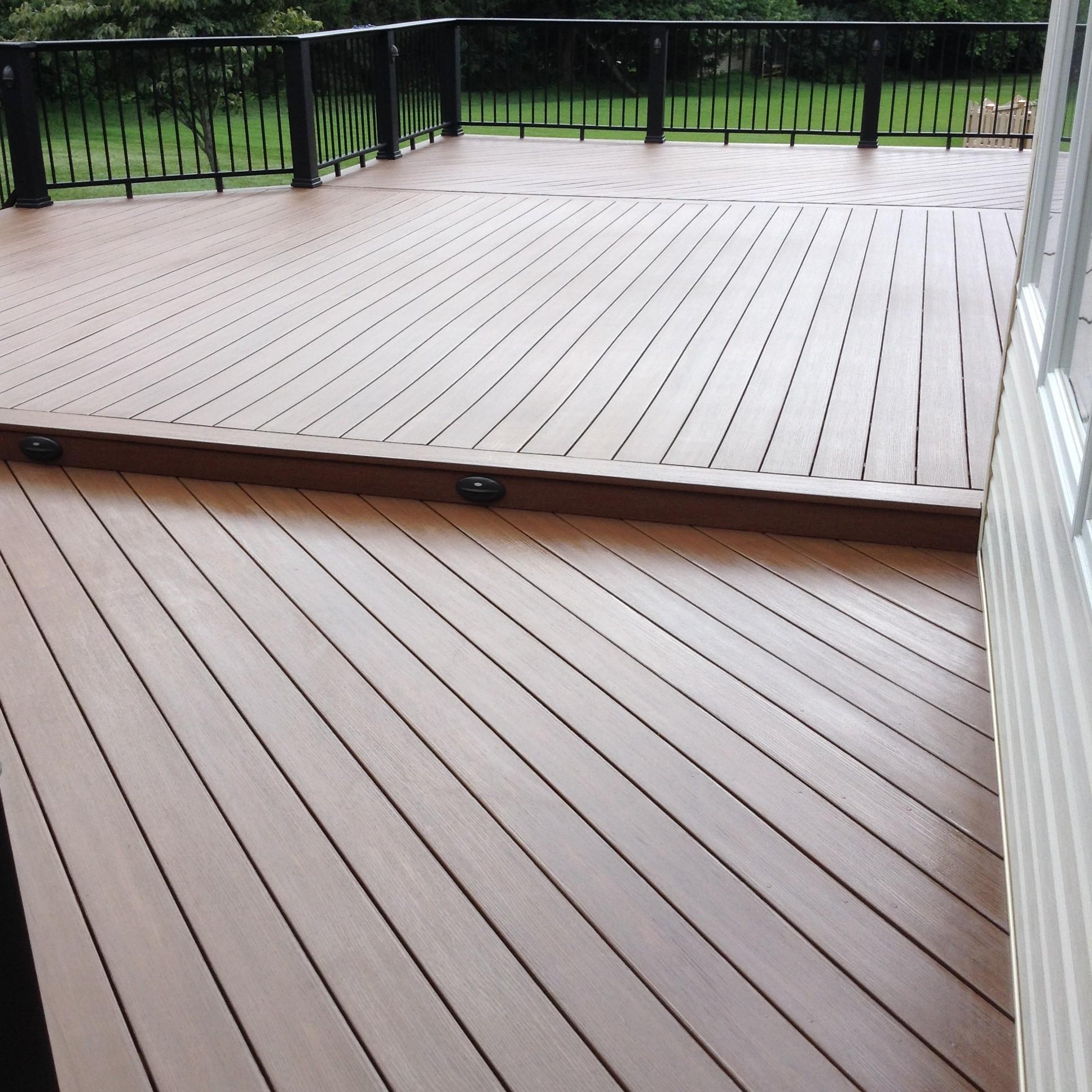 pvc deck restoration after | DeckMax®